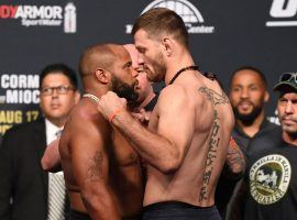 Daniel Cormier and Stipe Miocic will fight for the UFC heavyweight title in the main event of UFC 241. (Image: Getty)