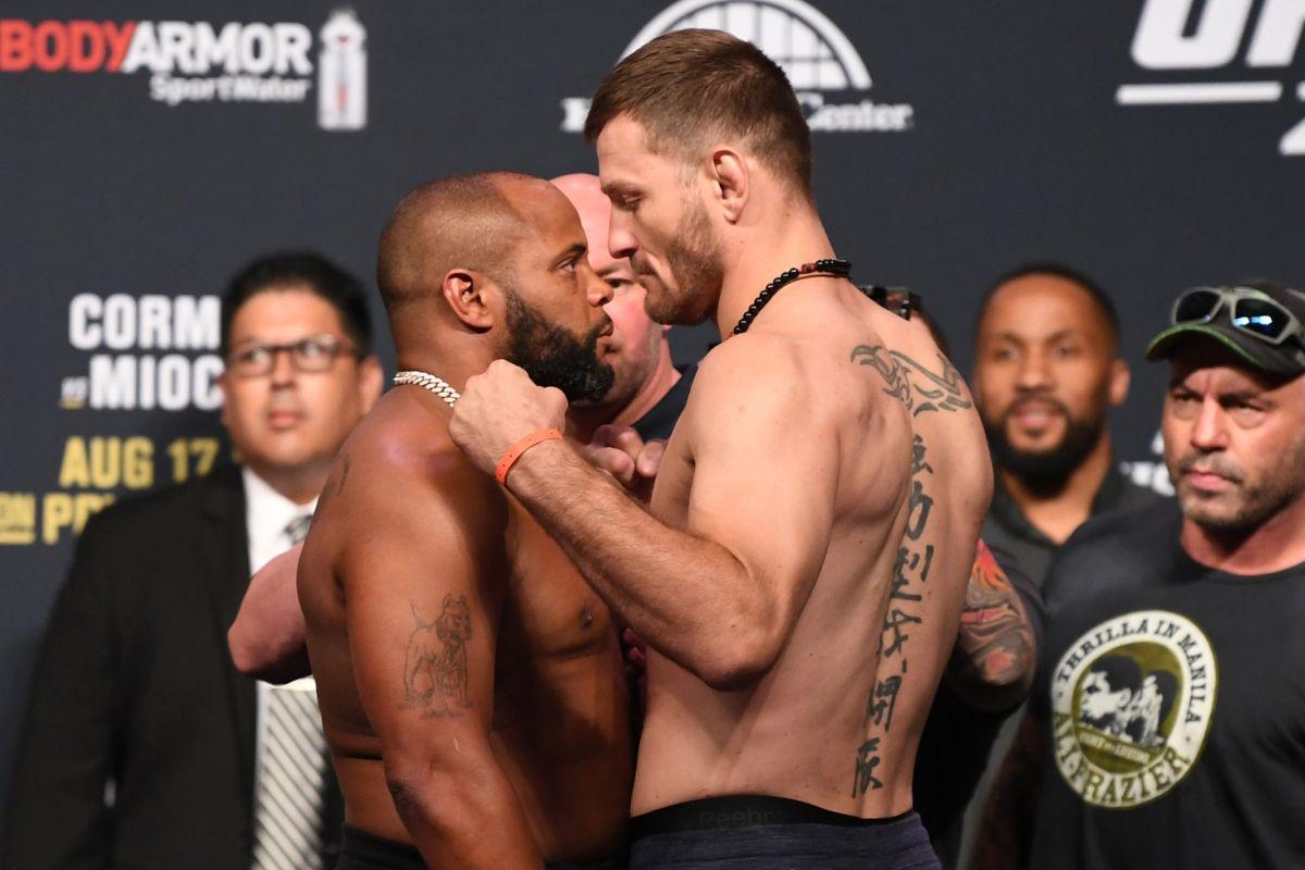 UFC 241 Cormier Miocic