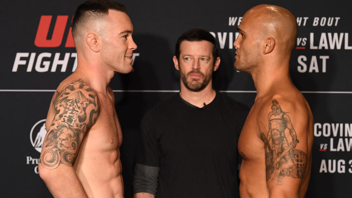 Colby Covington Robbie Lawler