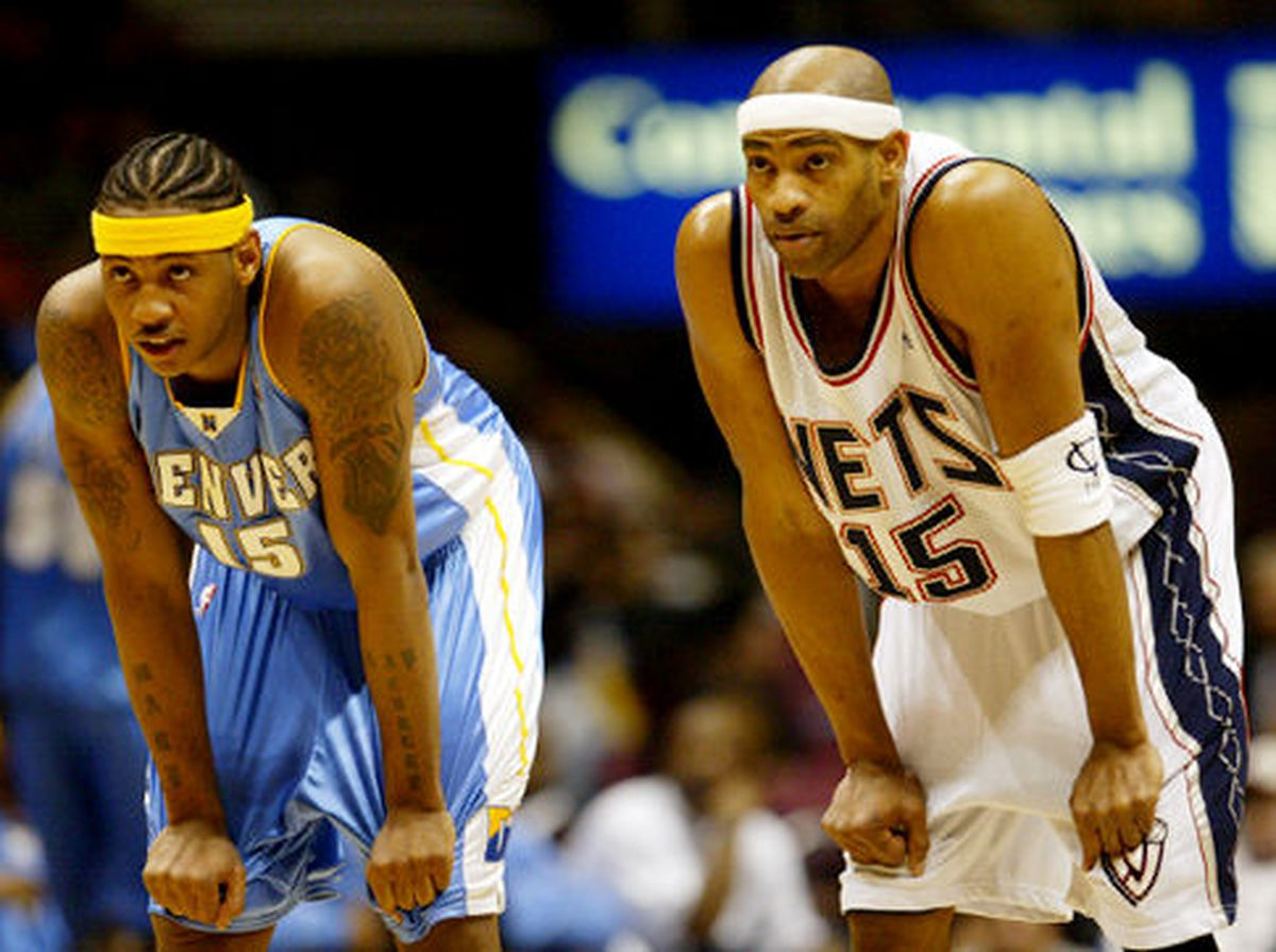 Carmelo Anthony Vince Carter