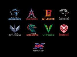 New logos introduced for the 2020 XFL teams.