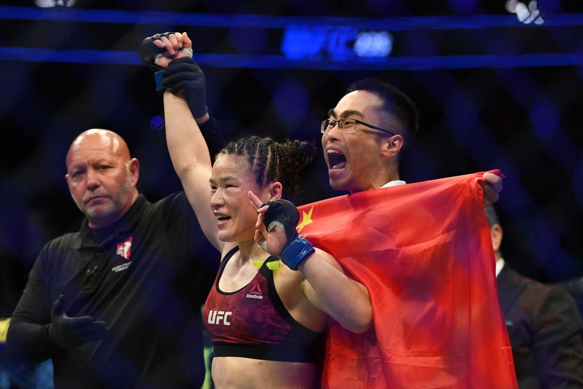UFC Fight Night 157 Zhang