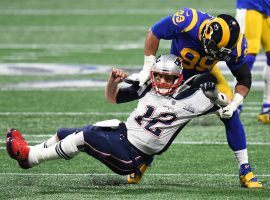 Los Angeles Rams defensive end Aaron Donald led the league in sacks last year with 20.5, and is the 2/1 favorite to do so again in 2019. (Image: USA Today Sports)