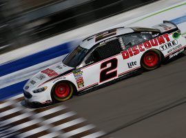 If pole sitter Brad Keselowski wins the Consumers Energy 400 at his hometown track in Michigan, he will be the 10th different driver in as many races to win in a stretch that dates back to the beginning of June. (Image: Getty)
