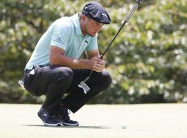 Bryson DeChambeau received a mountain of criticism from fellow professional golfers over his perceived slow play. (Image: Icon Sportswire)