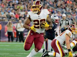 Washington Redskins RB Derrius Guice looking for a big year after knee surgery. (Image: Getty)
