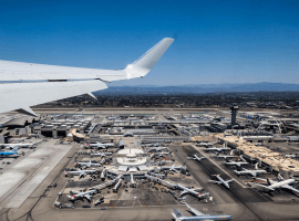 Sand from construction projects at Los Angeles In terminational Airport provides the surface for So. Cal racetracks including Santa Anita (Image: LAX)