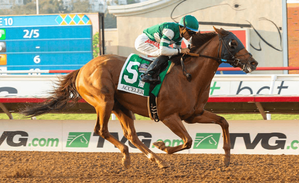 Accelerate at Pacific Classic
