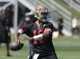 Jimmy Garoppolo returns as San Francisco's starting quarterback, and is the favorite to win Comeback Player of the Year. (Image: AP)