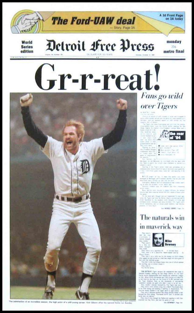 Detroit Tigers 1984