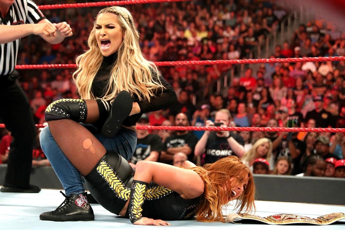 Becky Lynch Natalya