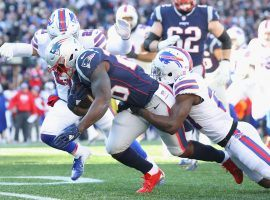 The 3-0 Patriots travel to Buffalo to take on the 3-0 Bills on Sunday.