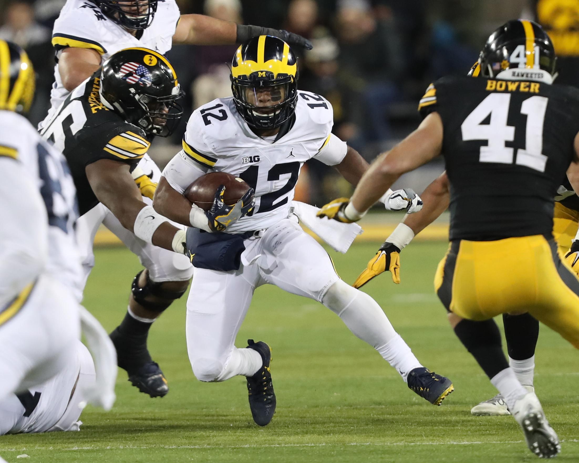 Iowa vs. Michigan