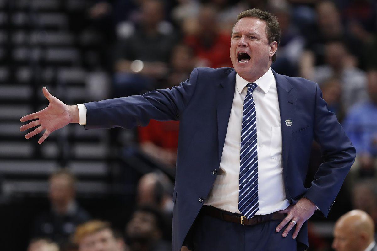 Kansas Basketball coach Bill Self