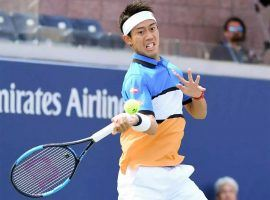 Kei Nishikori currently holds the eighth and final spot in the Race to London rankings used for qualification at the year-end ATP Finals. (Image: Reuters)