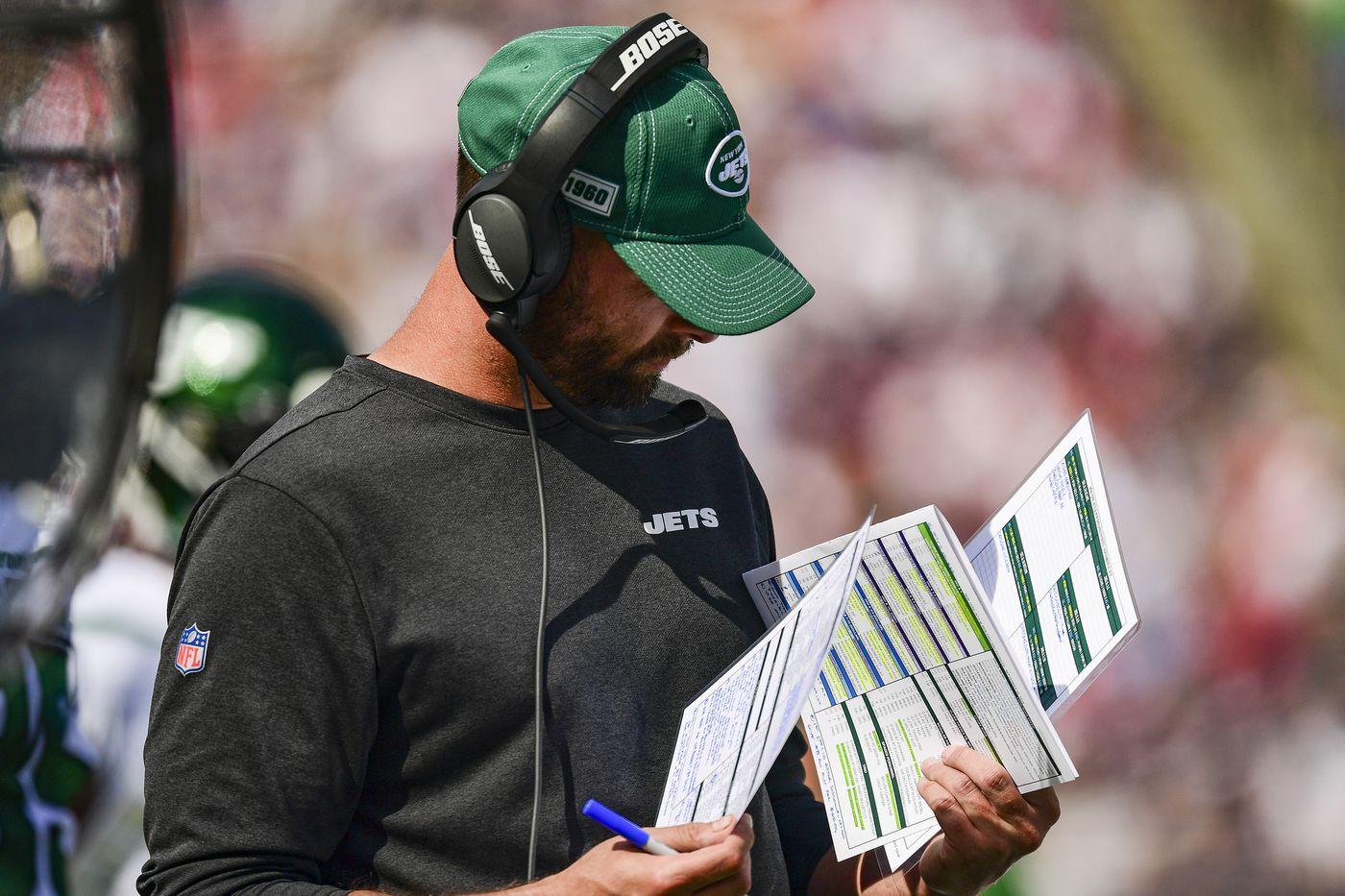 NY Jets Adam Gase bye week 4