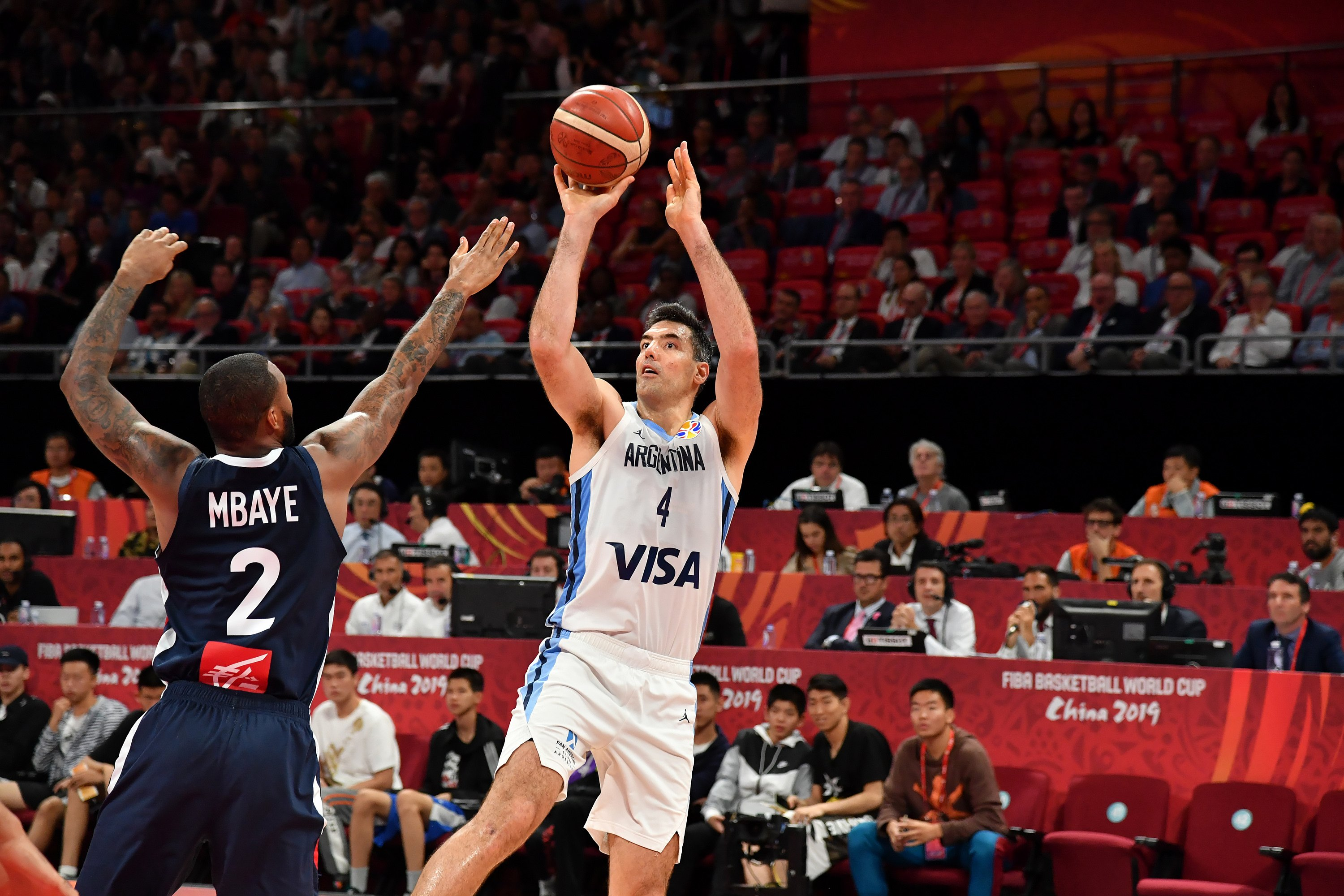 Argentina takes on Spain in the FIBA finals