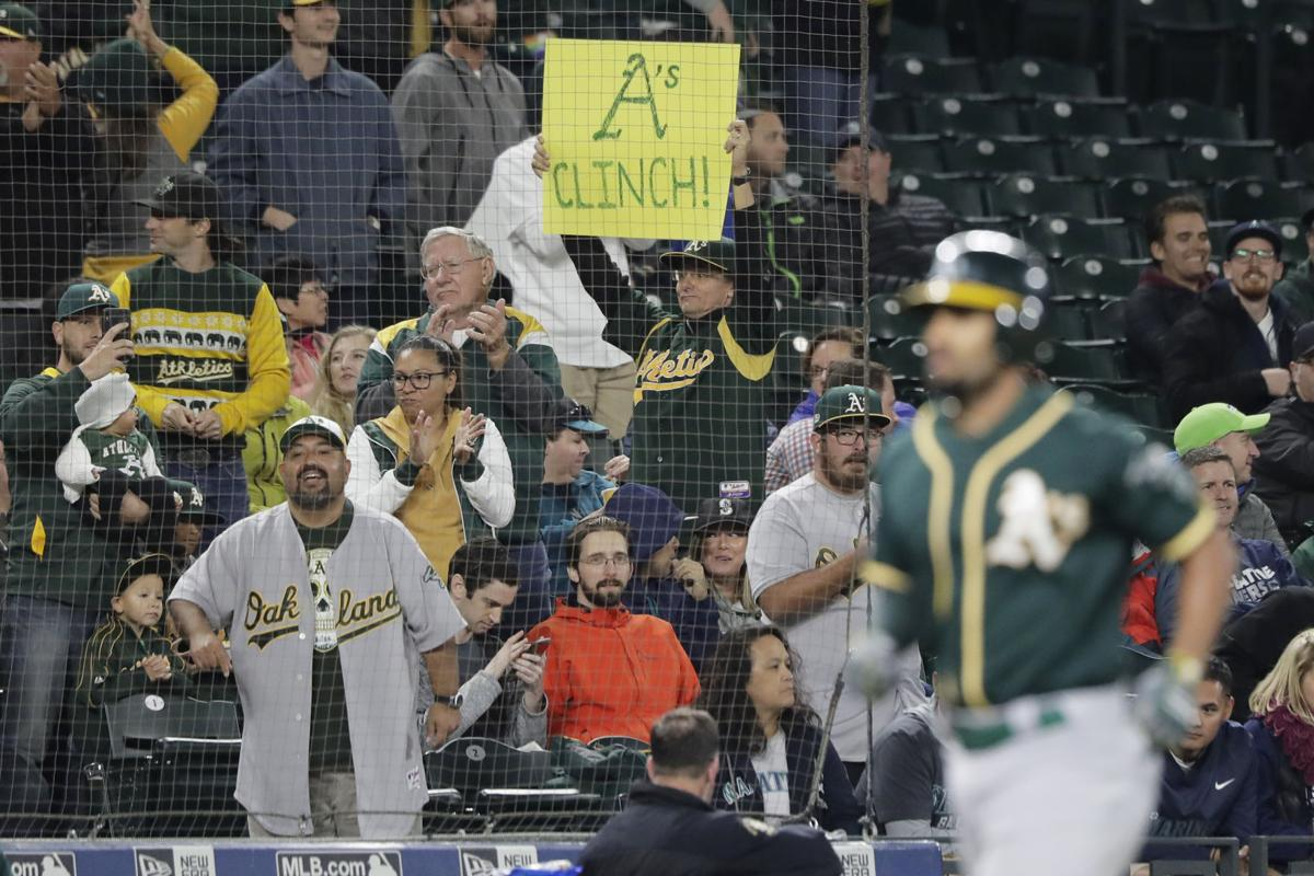Oakland A's Clinch AL Wild Card