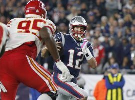 New England Patriots QB Tom Brady evades the Kansas City Chiefs during the 2019 AFC Championship. (Image: AP)