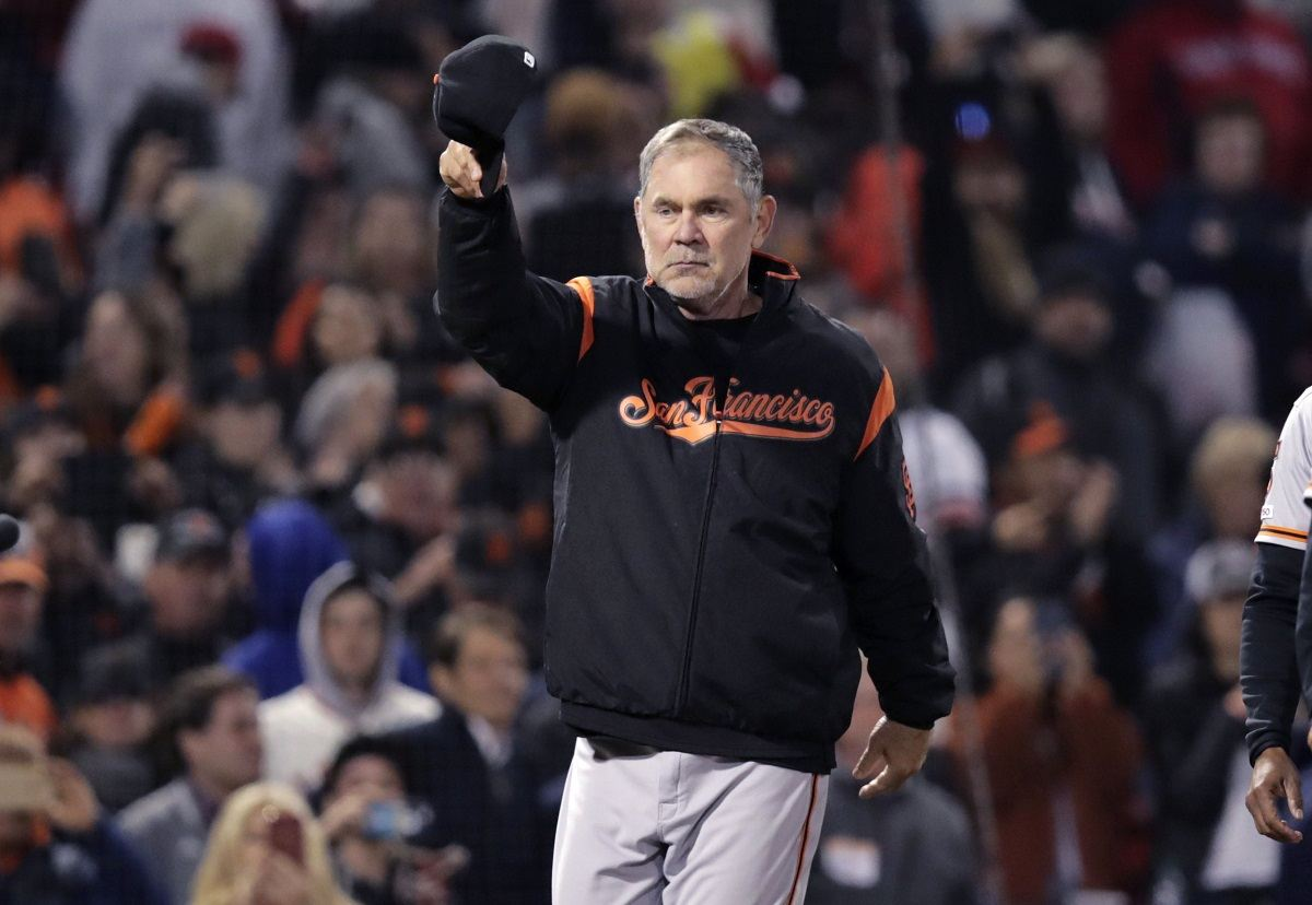 Bruce Bochy San Francisco Giants manager