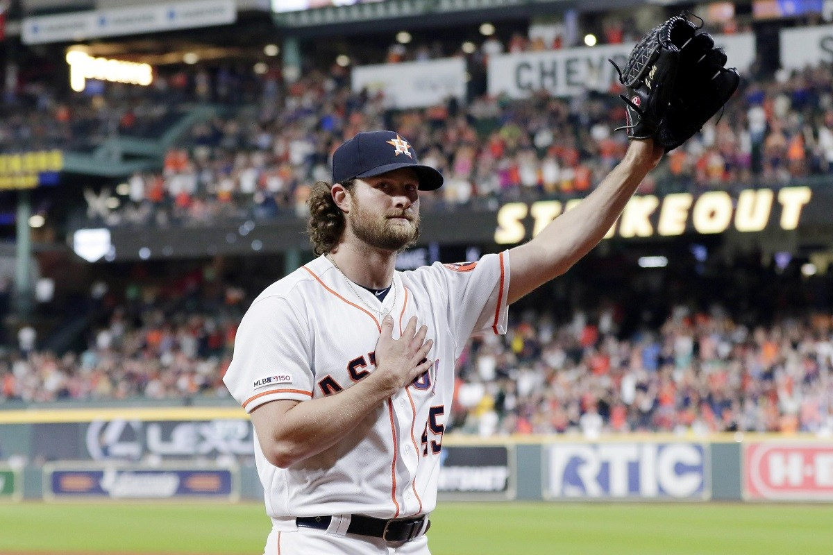 Gerrit Cole Houston Astros 300 strikeouts