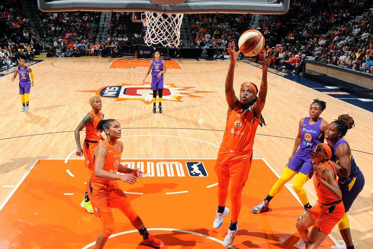 WNBA semifinal Sun Mystics