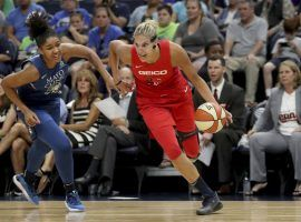 Elena Delle Donne of the Washington Mystics earned her second WNBA MVP award for her play in 2019. (Image: David Joles/AP)