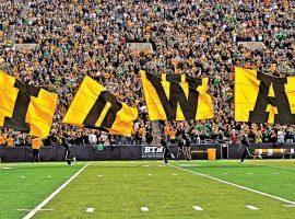 Iowa takes on Iowa State in a big rivalry game.
