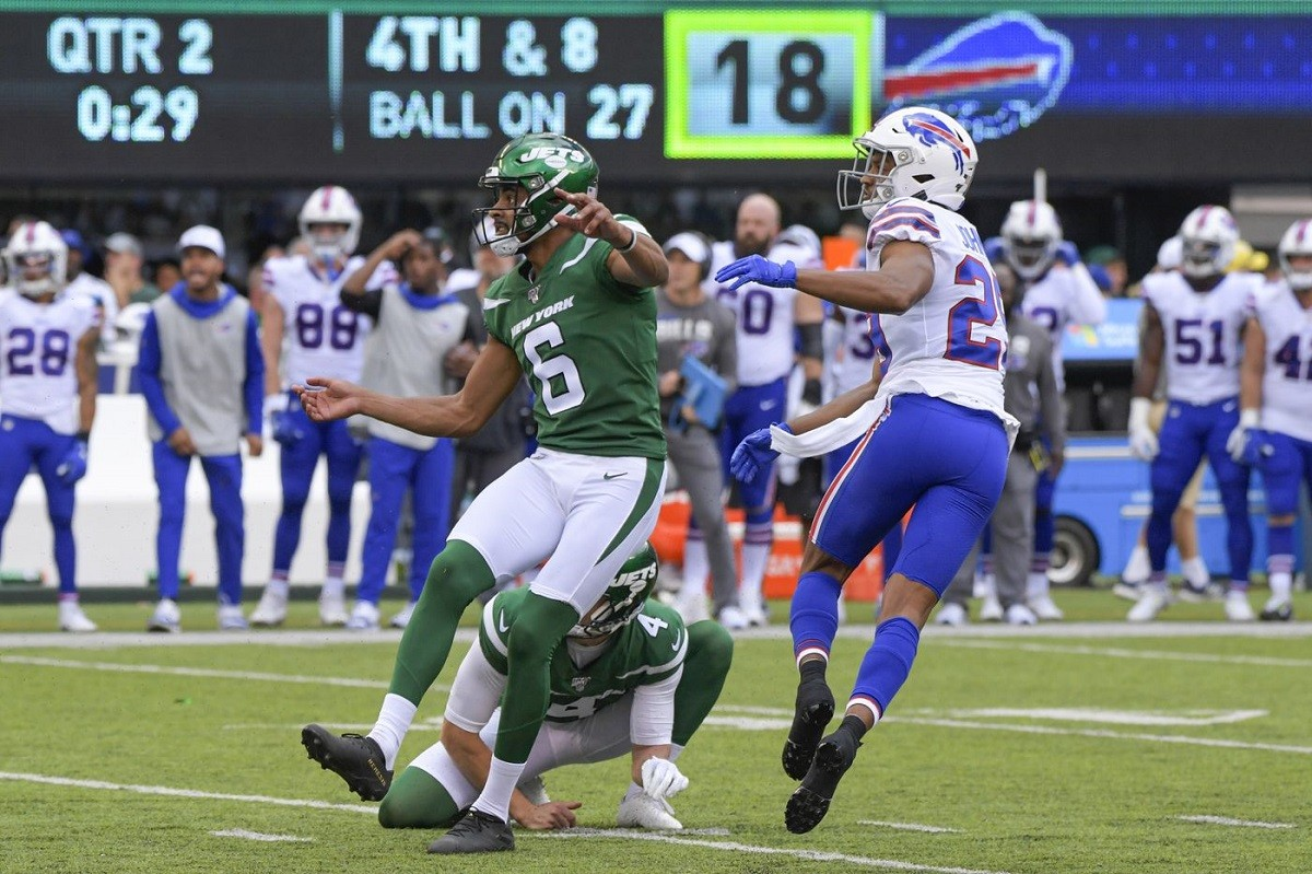 NY Jets kicker Kaare Vedvik