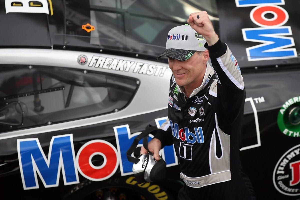 Kevin Harvick wins Brickyard 400; NASCAR Playoff field is set.