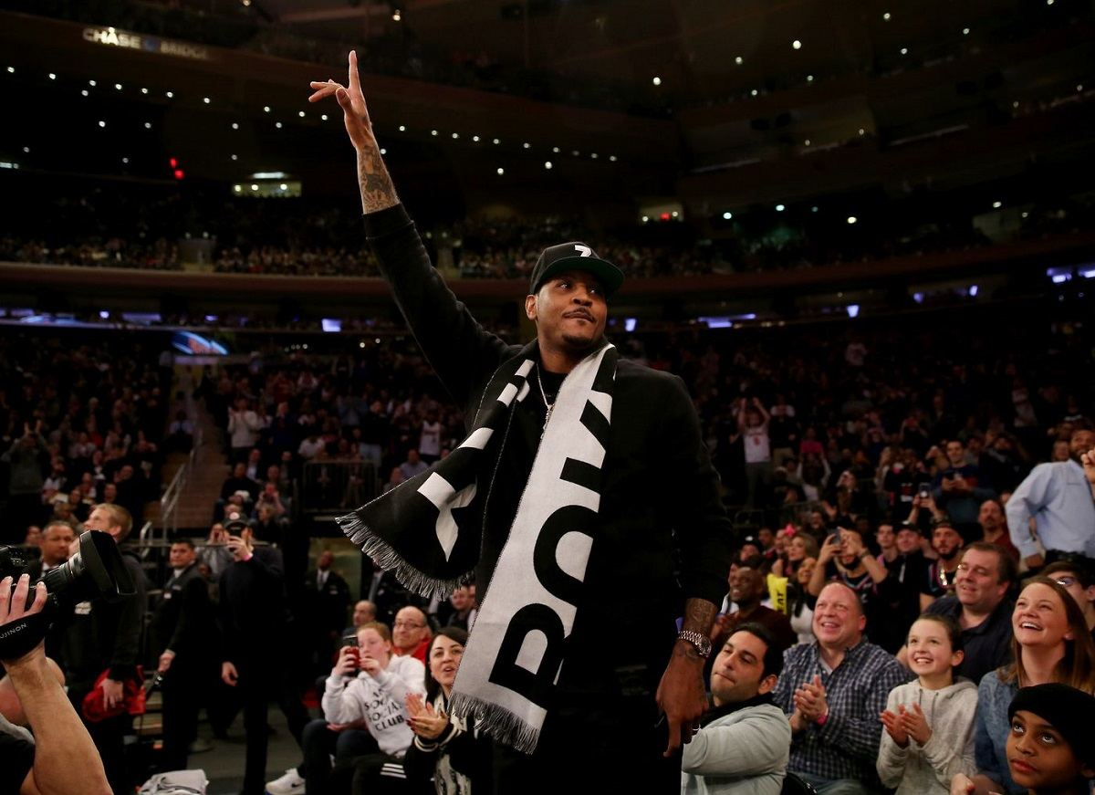 Carmelo Anthony Melo Brooklyn Nets rumor