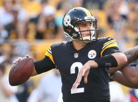 Pittsburgh Steelers backup QB Mason Rudolph drops back against the Seattle Seahawks in Week 2. (Image: Charles LeClaire/USA Today Sports)