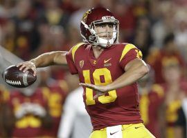 USC backup QB Matt Fink comes off the bench to lead the Trojans to victory over Utah at Memorial Coliseum in Los Angeles. (Image: Jose Sanchez/AP)
