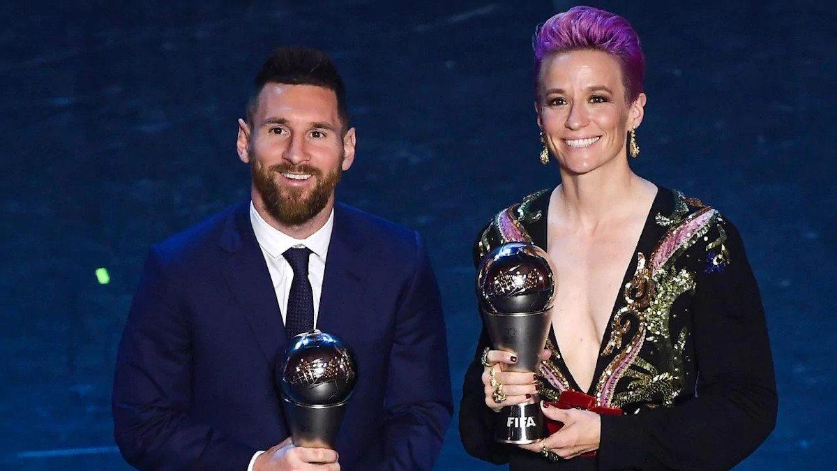 Messi Rapinoe The Best FIFA