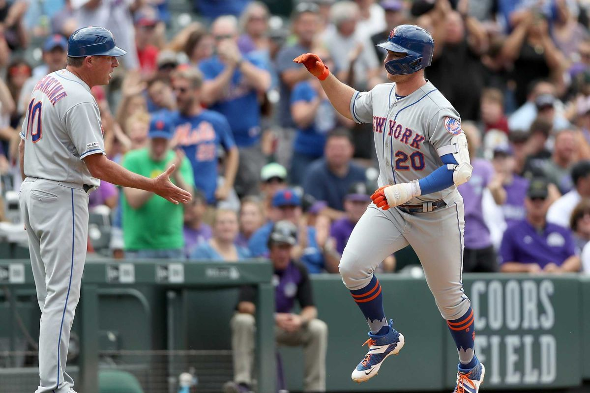 NY Mets rookie Pete Alonso 50 home runs