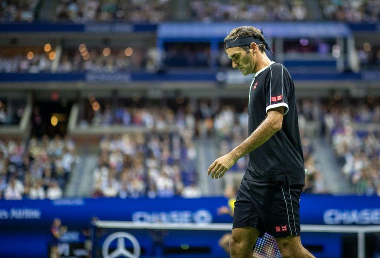 US Open Roger Federer