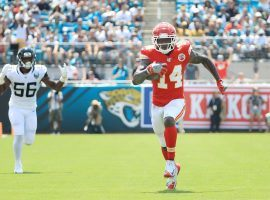 Sammy Watkins scored three receiving touchdowns against the Chief on Sunday. (Image: Arrowhead Pride)