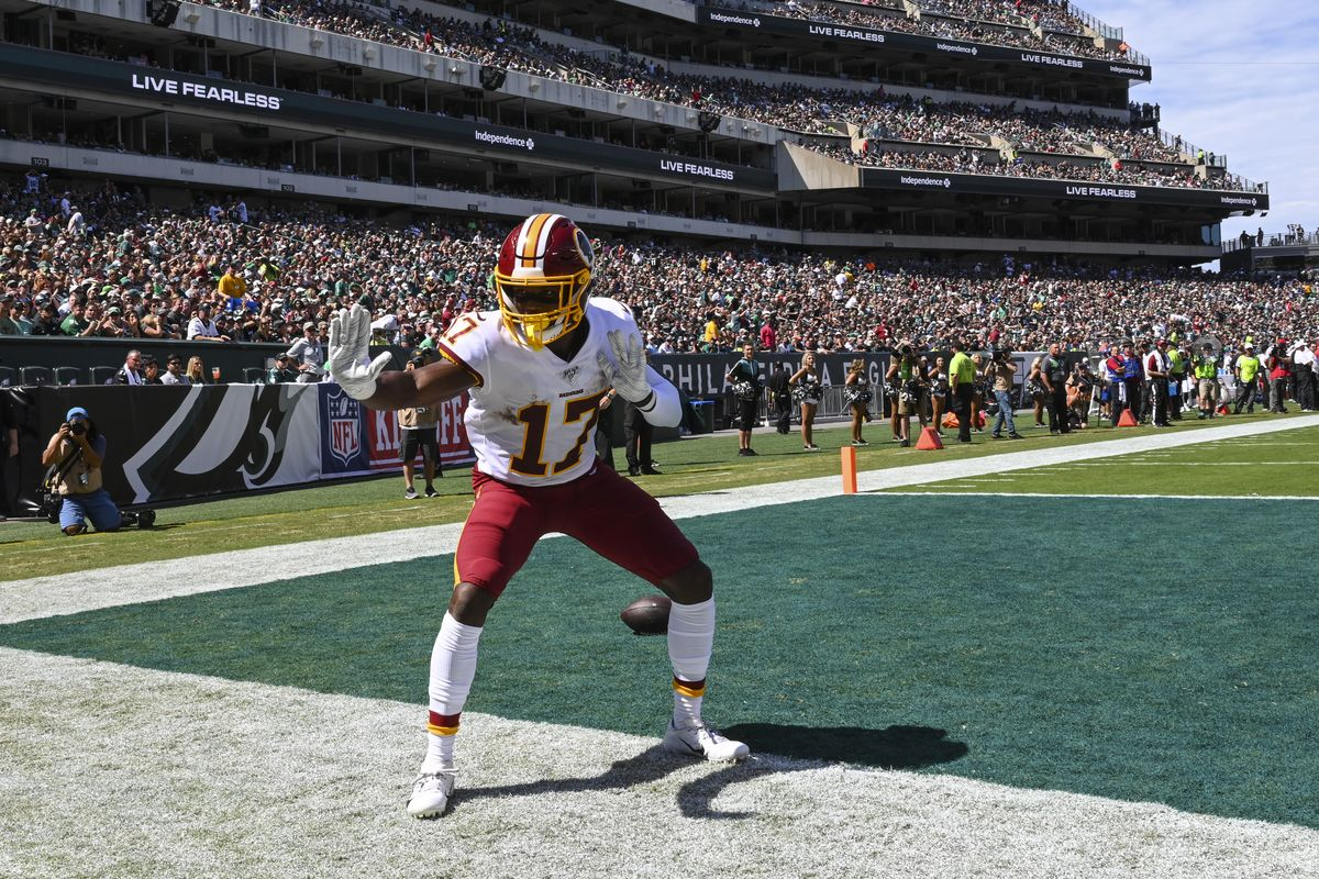 Washington Redskins WR, Scary Terry McLaurin