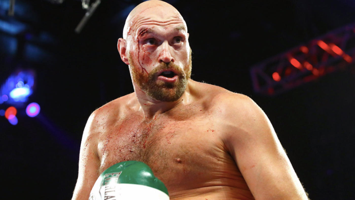 Tyson Fury Otto Wallin cut