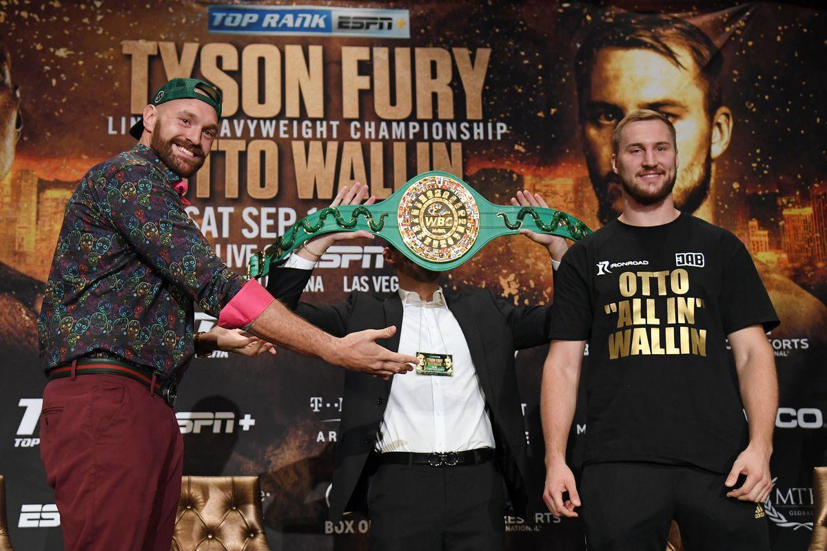 Tyson Fury Otto Wallin
