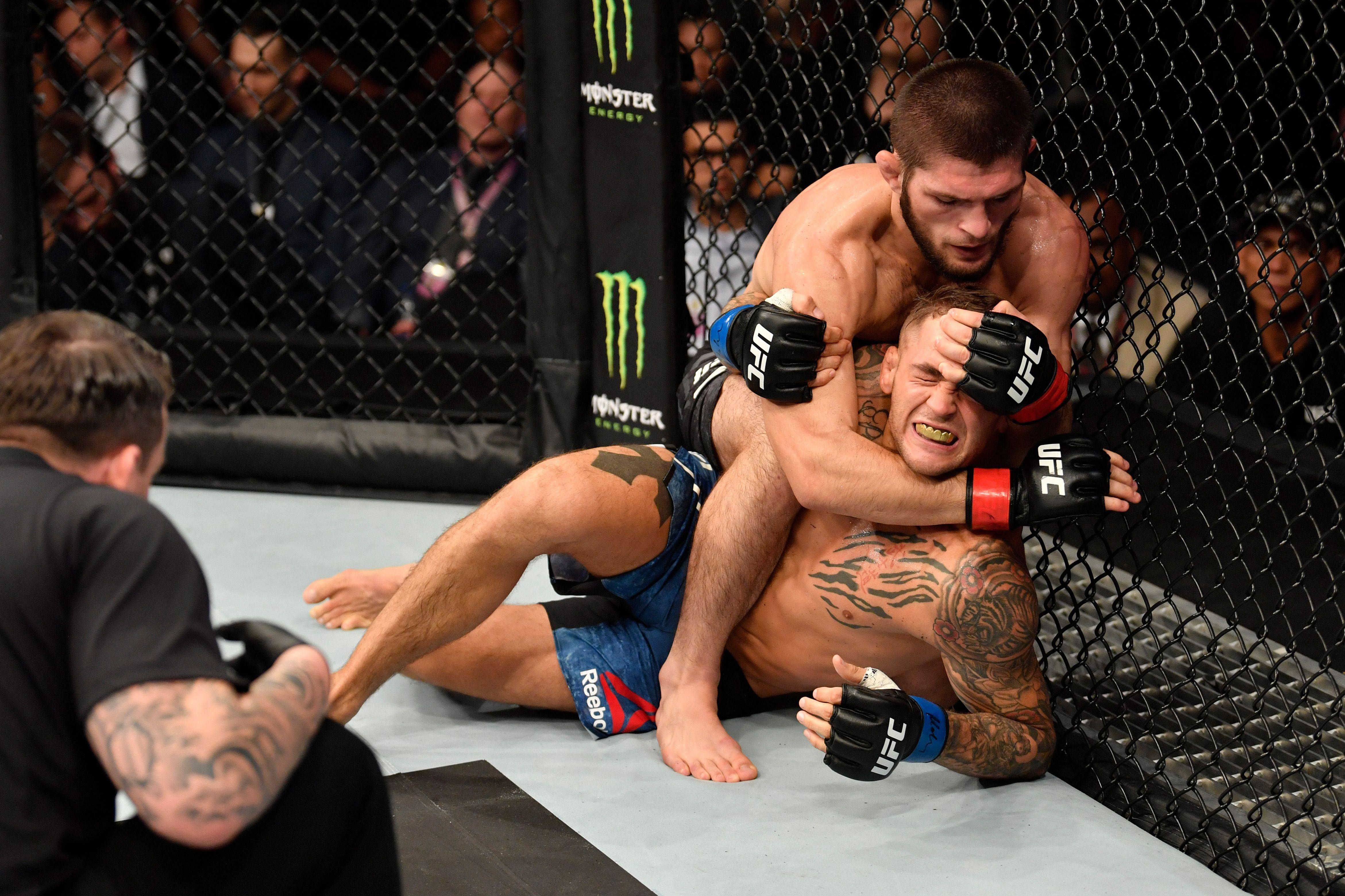 UFC 242 Khabib Nurmagomedov