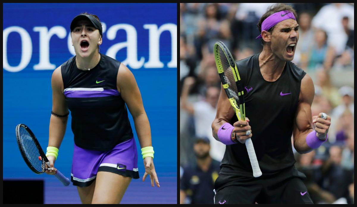 Bianca Andreescu Rafael Nadal US Open