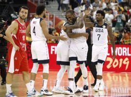 The United States escaped with a one-point overtime win over Turkey at the FIBA World Cup on Tuesday. (Image: Reuters)