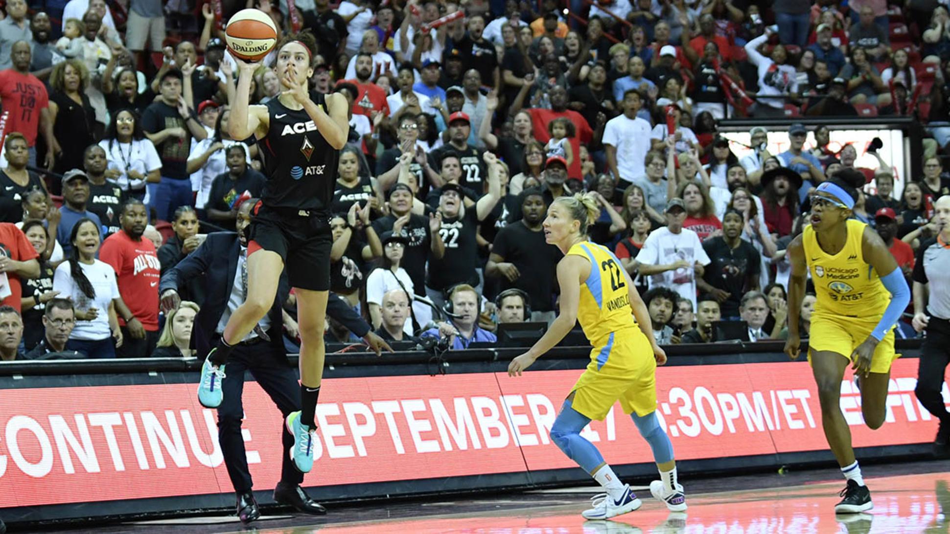 WNBA playoffs Sky Aces