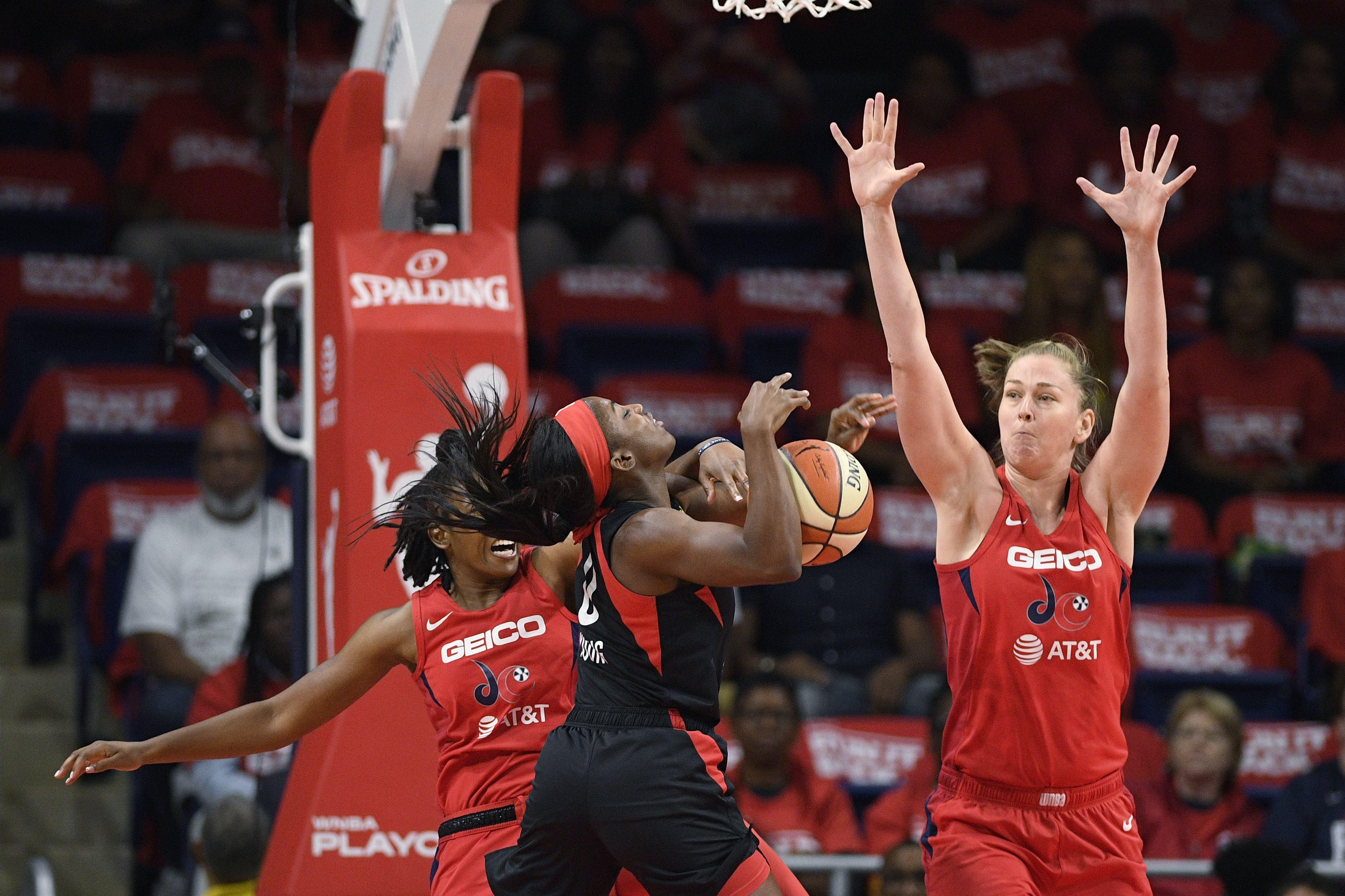 WNBA semifinal Mystics Aces