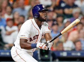 Houston Astros outfielder Yordan Alvarez has the inside track to AL Rookie of the Year. (Image: Getty)