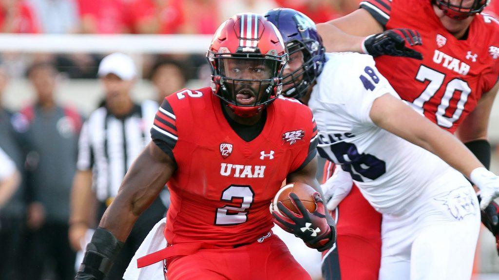Zach Moss, Utah RB