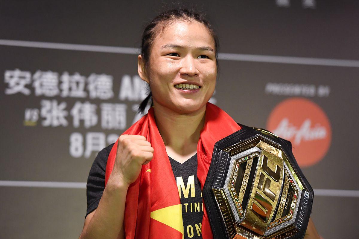 Zhang Weili UFC championship