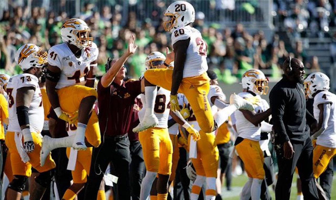 The Pac-12's Arizona State is No. 24 in AP Top 25 poll