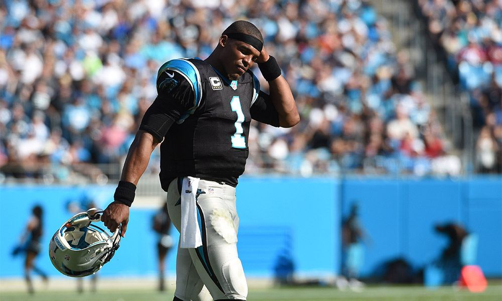 The Panter's Cam Newton could be on his way to missing the playoffs.